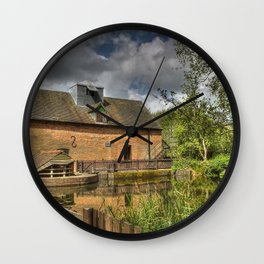 New Hall Mill Wall Clock