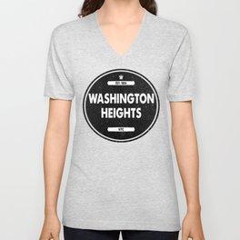 Washington Heights Unisex V-Neck