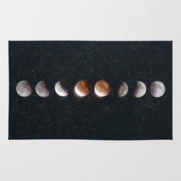 Phases of the Moon II Rug
