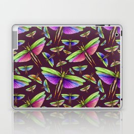 Rainbow Grasshoppers on Mulberry Laptop & iPad Skin