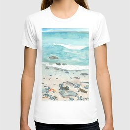 Cold day at the beach T-shirt