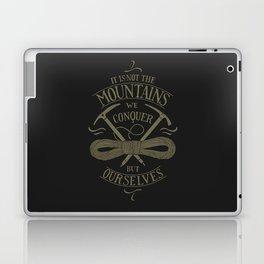 Hiking motivational quote Laptop & iPad Skin