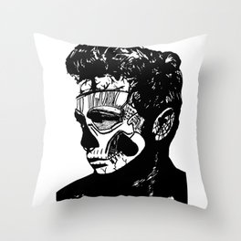 James Dean. Rebel: Zombie. Throw Pillow