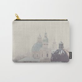beneath the snow covered domes ... Carry-All Pouch