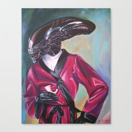 Dappermorph Canvas Print
