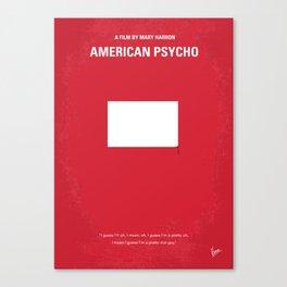 No005 My American Psycho MMP Canvas Print