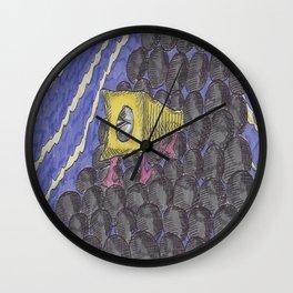 The Walking Pencil Sharpener Wall Clock