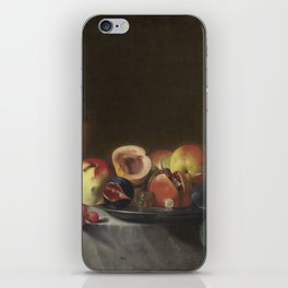 Pensionante del Saraceni Still Life with Fruit and Carafe iPhone Skin