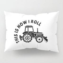 Tractor Farmer Agriculturer Farm Farming Gift Idea Pillow Sham