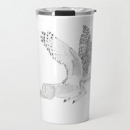 Combinations #7 - Antelope / Owl (FINAL) Travel Mug