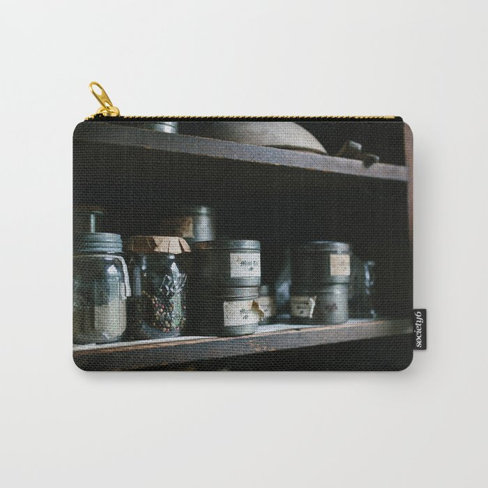 Vintage Pantry & Spices II Carry-All Pouch