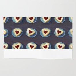 Linzer Cookies Rug