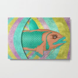 Wreckfish Metal Print