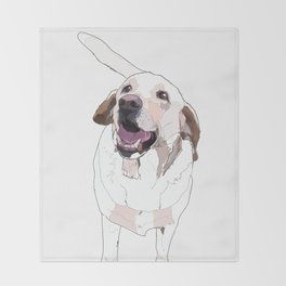 Labrador Throw Blanket