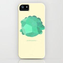 Globosaurus iPhone Case