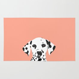 Casey - Dalmation art print phone case decor for pet lover and dog lover Rug