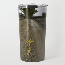 Yellow Arrow of the Camino Travel Mug