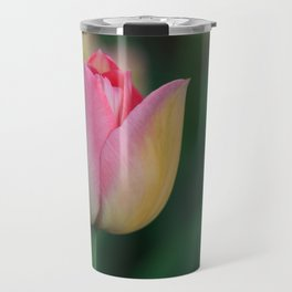 Soft Pastel Colors Tulips at Lake Maggiore in Italy Travel Mug