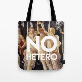 no hetero Tote Bag
