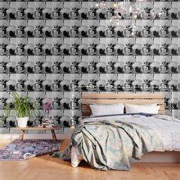 CHANELNo. 5 Black and White Wallpaper