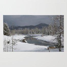 Castle Snow Rug