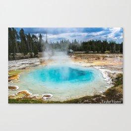 The Hot Tub Canvas Print