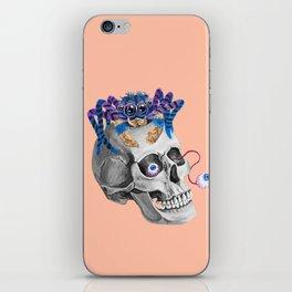 Skull Spider iPhone Skin