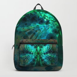 Butterfly Abstract G541 Backpack