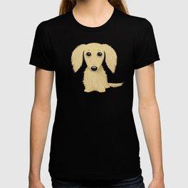 Longhaired Cream Dachshund T-shirt