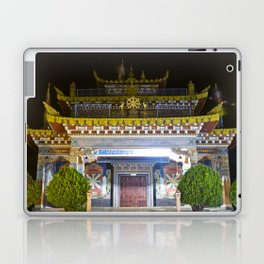 Manjushri Hall - Tibetan Buddhist Temple Laptop & iPad Skin