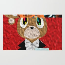 Hip Hop KanyeWest Compilation Rug