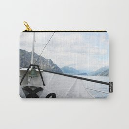 Boat on Lake Garda Carry-All Pouch