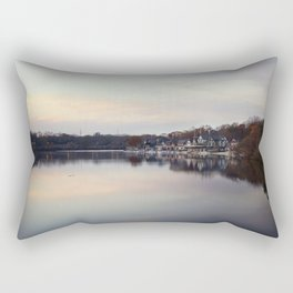 Boat House Row, Philadelphia Rectangular Pillow