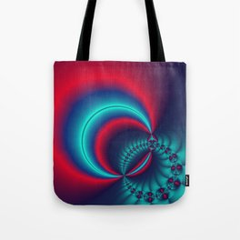 time for fractals -6- curtain Tote Bag