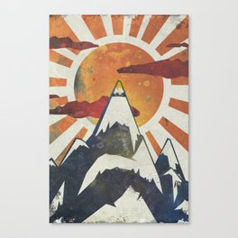 Mount Spitfire Canvas Print