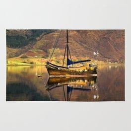 Sailboat Reflections Rug