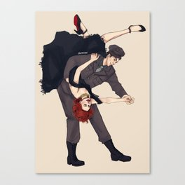 BuckyNat Swing Canvas Print