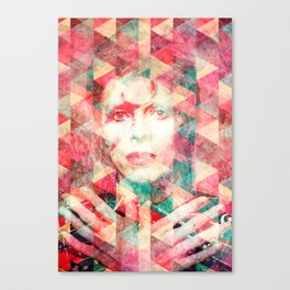 Bowie abstraction Canvas Print
