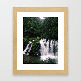 Alaskan Waterfall Framed Art Print