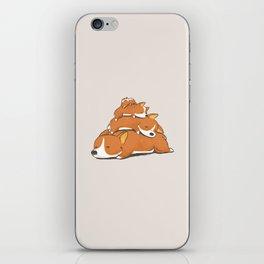 Comfy Bed - CORGI iPhone Skin