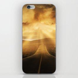 Road califonia iPhone Skin
