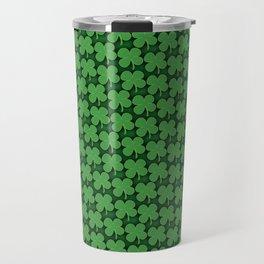 Four Leaf Pattern Travel Mug