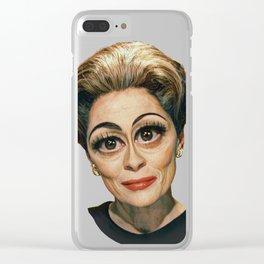 Mommie Dearest- Joan Crawford Clear iPhone Case