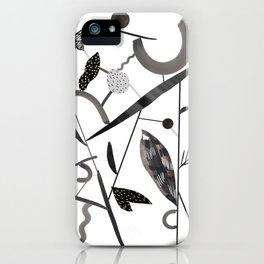 Abstract Botanica - 2 iPhone Case