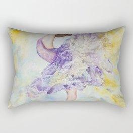 Crystal Ballerina Rectangular Pillow