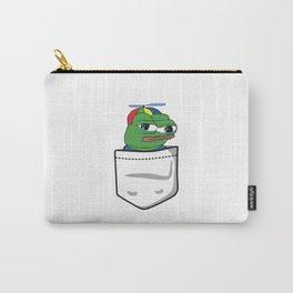 Apu Apustaja tee pocket PepeTheFrog me smart Carry-All Pouch