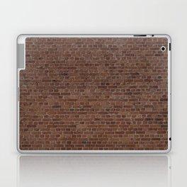 NYC Big Apple Manhattan City Brown Stone Brick Wall Laptop & iPad Skin