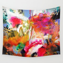 We Dwell in Possibility Wall Tapestry