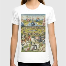 THE GARDEN OF EARTHLY DELIGHT - HEIRONYMUS BOSCH T-shirt