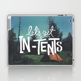 Let's Get In-Tents Laptop & iPad Skin